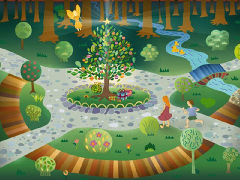 2 – Navidad en el bosque
