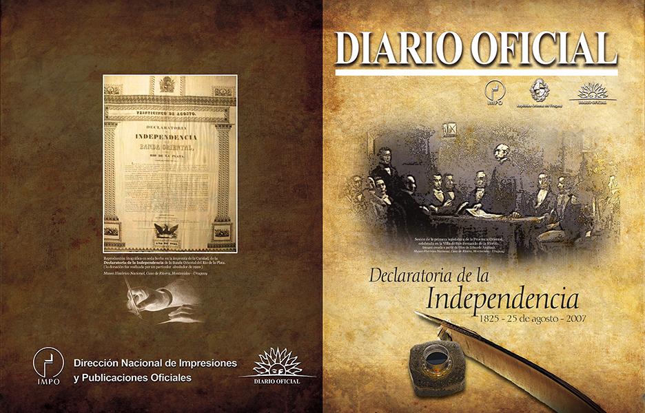 portada 2007 agosto declaratoria de la independencia