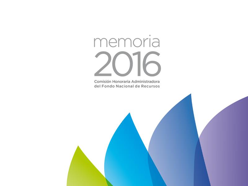 Memoria 2016 – FNR
