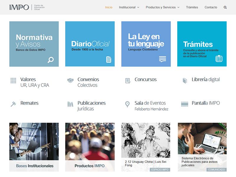 IMPO | Centro de Información Of.